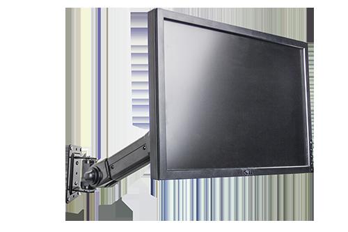 Computer monitor wall mounting service